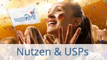 Nutzen & USPs - Marketingstrategie und Go to Market mit summ-it Unternehmensberatung