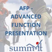 AFP – Advanced Function Presentation - summ-it Unternehmensberatung – B2B-Marketing & Business Development