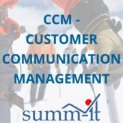 CCM - Customer Communication Management - summ-it Unternehmensberatung – B2B-Marketing & Business Development