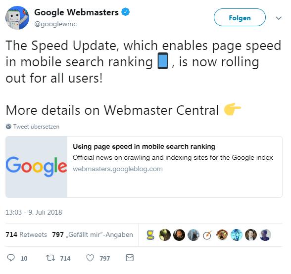 Beeinflusst die Website-Geschwindigkeit (Site Speed) die SEO? - summ-it Unternehmensberatung