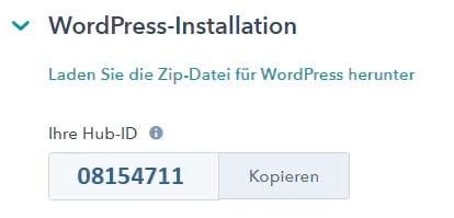HubSpot Integration mit WordPress - HubSpot WordPress Plugin - summ-it Unternehmensberatung