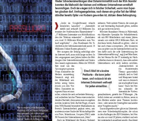 IT Sicherheit im Mittelstand - summ-it Unternehmensberatung