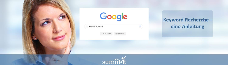 Google SEO Keyword Recherche Anleitung - summ-it Unternehmensberatung