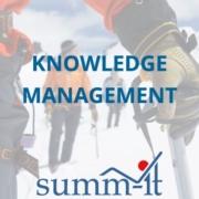 Knowledge Management - summ-it Unternehmensberatung – B2B-Marketing & Business Development