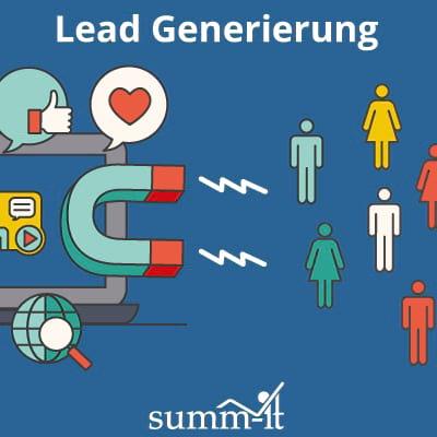 Lead Generierung für B2B-Unternehmen mit der richtigen Mischung aus Outbound Marketing und Inbound Marketing - summ-it Unternehmensberatung