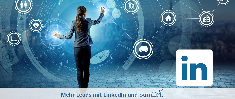 Lead-Generierung mit LinkedIn und summ-it Unternehmensberatung