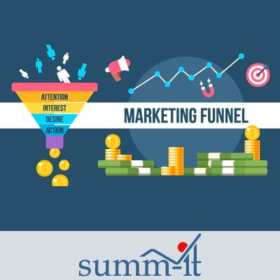 Inbound Marketing Agentur IT - Marketing Funnel - Sales Funnel - summ-it Unternehmensberatung