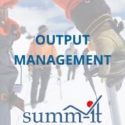 Output Management - summ-it Unternehmensberatung – B2B-Marketing & Business Development