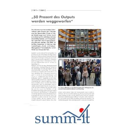 Output Management System - summ-it Unternehmensberatung