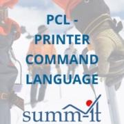 PCL - Printer Command Language - summ-it Unternehmensberatung – B2B-Marketing & Business Development