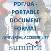 PDF/UA - PDF/Universal Accessibility - summ-it Unternehmensberatung – B2B-Marketing & Business Development