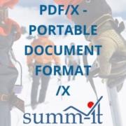 PDF/X - Portable Document Format /Druckvorlagen - summ-it Unternehmensberatung – B2B-Marketing & Business Development