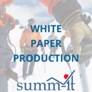 White Paper Production - summ-it Unternehmensberatung – B2B-Marketing & Business Development