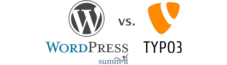 WordPress und Typo3 im Vergleich - summ-it Unternehmensberatung