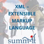 XML - Extensible Markup Language - summ-it Unternehmensberatung – B2B-Marketing & Business Development